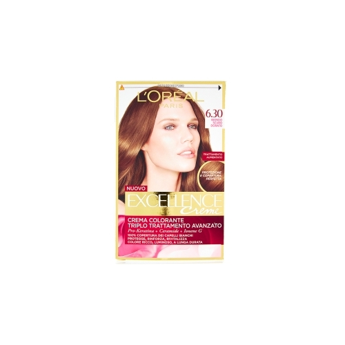 LOreal Excellence Creme Color 63 Biondo Scuro Dorato
