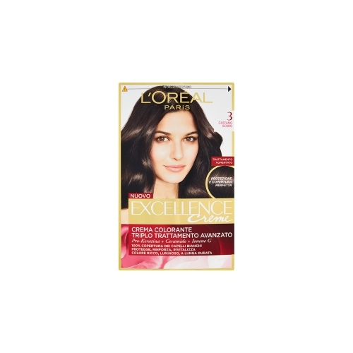 LOreal Excellence Creme Color Castano Scuro n3