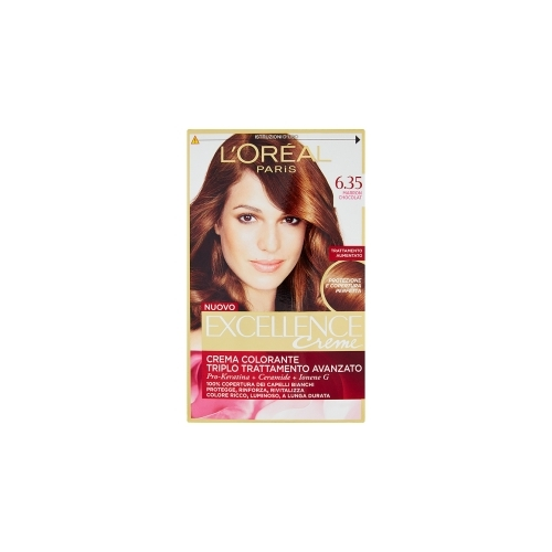 LOreal Trattamento Colorante Per Capelli Excellence Creme N 635 Marron Chocolat