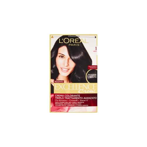 LOreal Excellence Creme Color  Nero n1
