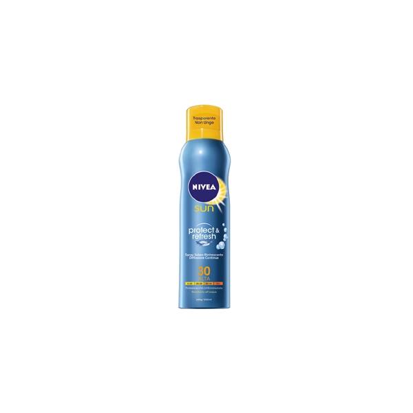 Nivea  Latte solare protect  refresh spf 30 200 ml spray