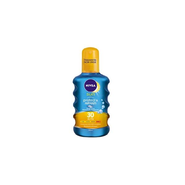 Nivea  Latte solare protect  refresh invisible spf 30 200 ml