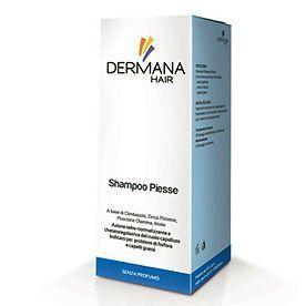 DERMANA PIESSE SHAMPOO 150ML Adatto in caso di eritema desquamazione diffusione microbica prurito