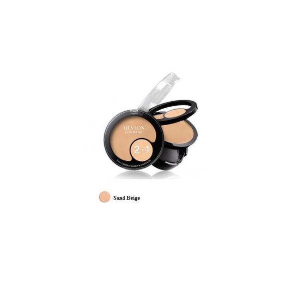 Revlon  Colorstay 2in1 compact makeup  concealer  fondotinta  correttore sand beige