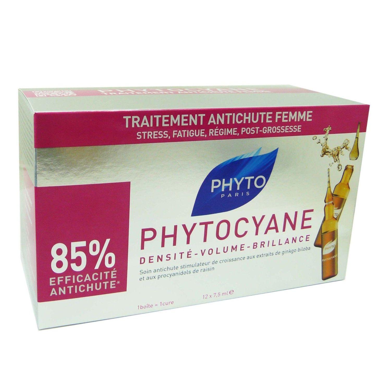 Phyto  Phytocyane Anticaduta Donna 12 Flaconi 75ml
