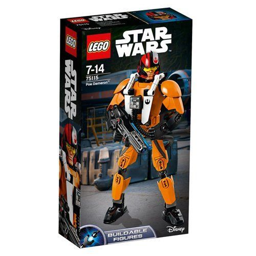 LEGO  Star Wars Battle Figures Poe Dameron