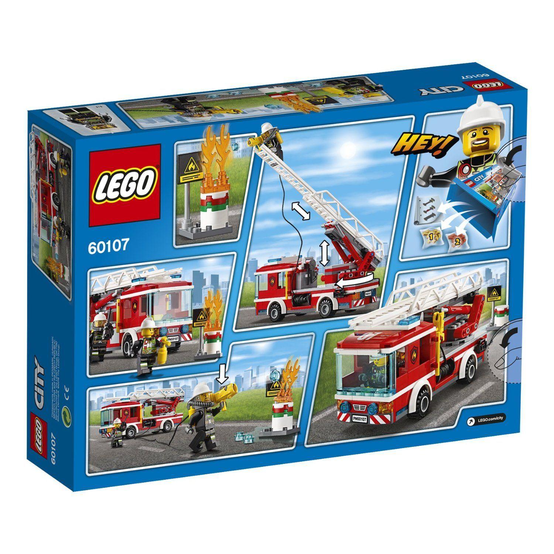 LEGO  City Pompieri Autopompa Dei Vigili Del Fuoco