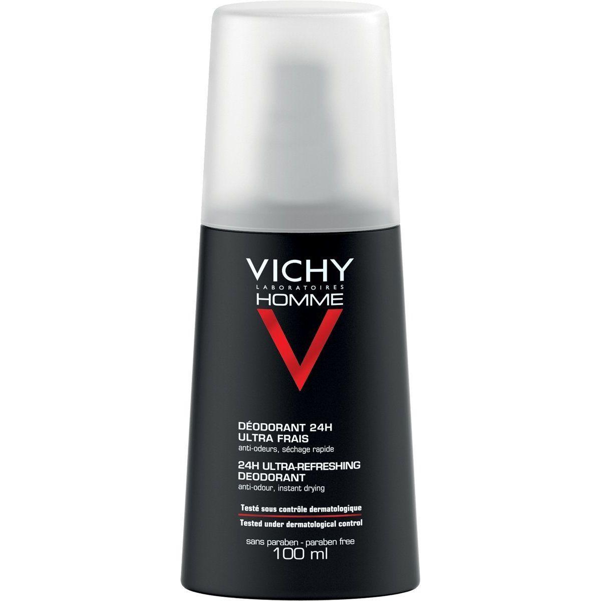 Homme Deodorante ultra fresco 24H di Vichy Deodorante Uomo  Flacone spray 100 ml