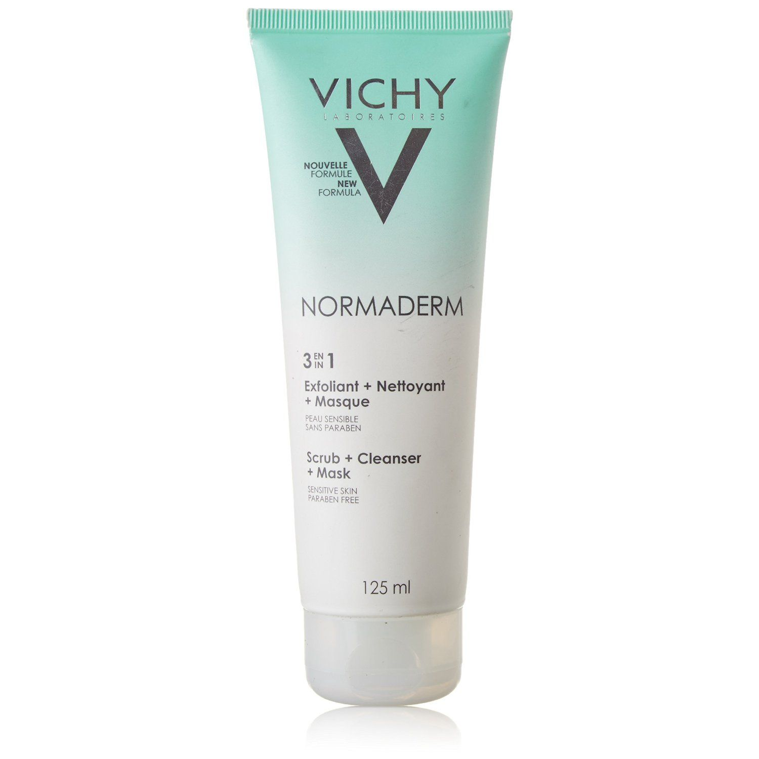 VICHY Cleanser Gel Detergente Viso Normaderm 3in1 125 ml