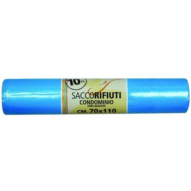SACCHI VIROSAC CONDOMINIO AZZURRO PZ10 CM 70X110