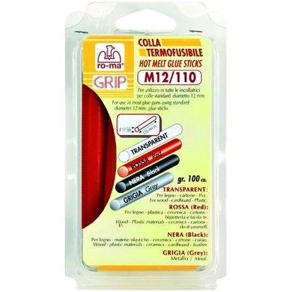 STICK PER PISTOLE INCOLLATRICI NERO BLISTER 100GR MM110X12D
