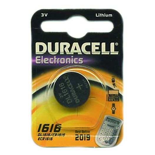 PILE DURACELL SPECIAL LITIO 3V CR 1616