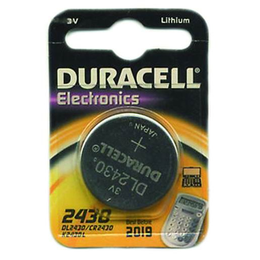 PILE DURACELL SPECIAL LITIO 3V CR 2430