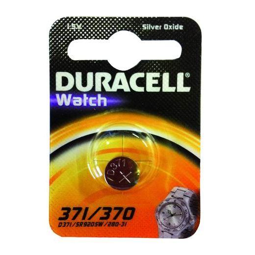 PILE DURACELL WATCH SILVEROXIDE 15V D 371370