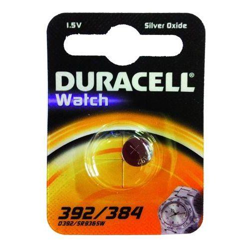 PILE DURACELL WATCH SILVEROXIDE 15V D 392384