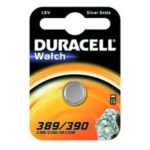 PILE DURACELL WATCH SILVEROXIDE 15V D 389390