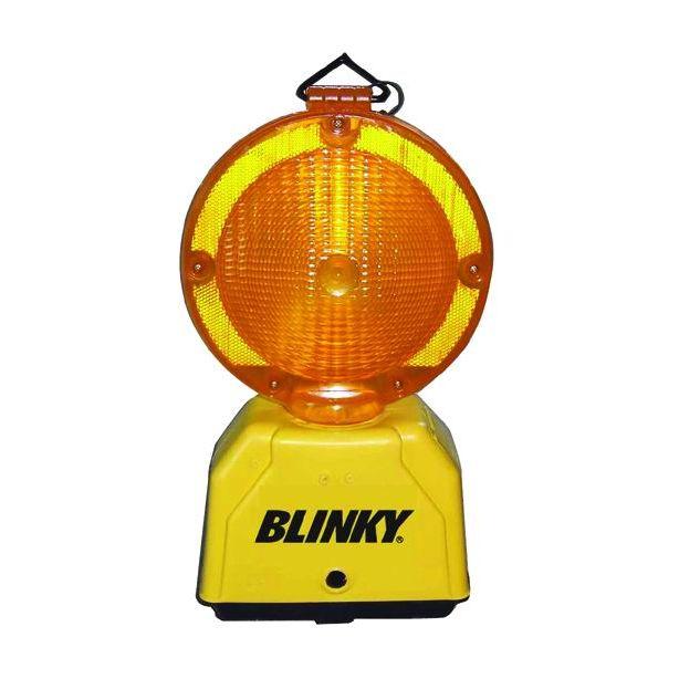 LAMPEGGIATORE CANTIERE BLINKY LED 14 INTERMITTENTE GIALLAMBRA