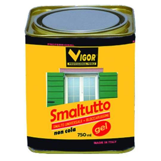 SMALTO ANTIRUGGINE SMALTUTTO 1004 GIALLO ML 750