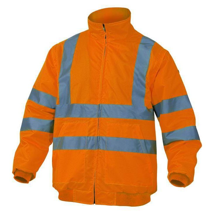 Giubbotto alta visibilita Taglia S PANOPLY RENOHV ARANCIOFLUO giaccone sicurezza lavoro antinfortunistica stradale