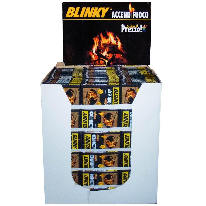 ACCENDIFUOCO BLINKY ECOLOGICO PALLBOX 342 PROMO 32 CUBETTI