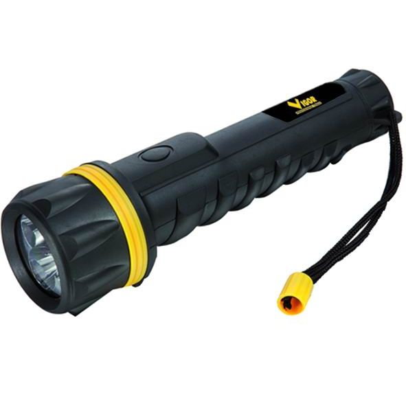 TORCIA VIGOR LED RB3XL GOMMA 2D 15 LMN