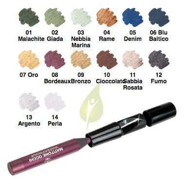 EuPhidra Linea Make up Matitone Waterproof Ombretto Matita Liner 08 Bordeaux