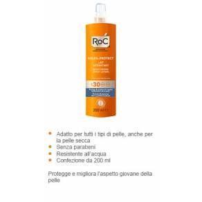 Roc Soleil Protect Corpo Lozione Spray Idratante SPF30
