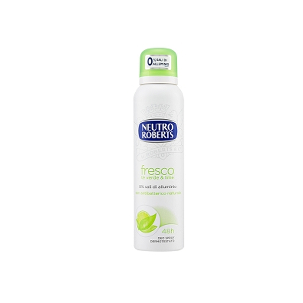 Neutro Roberts  Fresco te verde  lime deodorante spray 125 ml