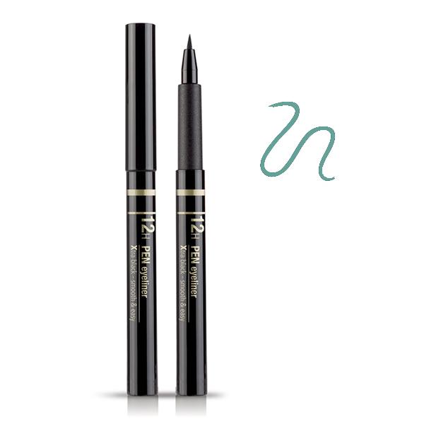 Astra  12h pen eyeliner 04 xtra emerald green