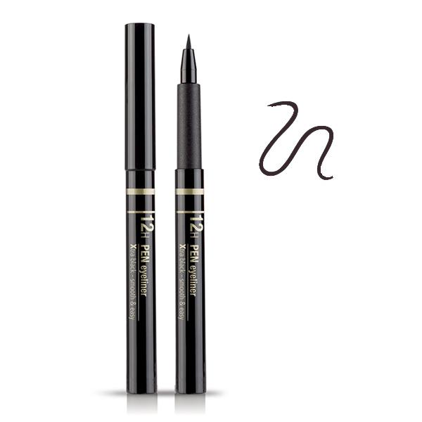 Astra  12h pen eyeliner 03 xtra dark brown