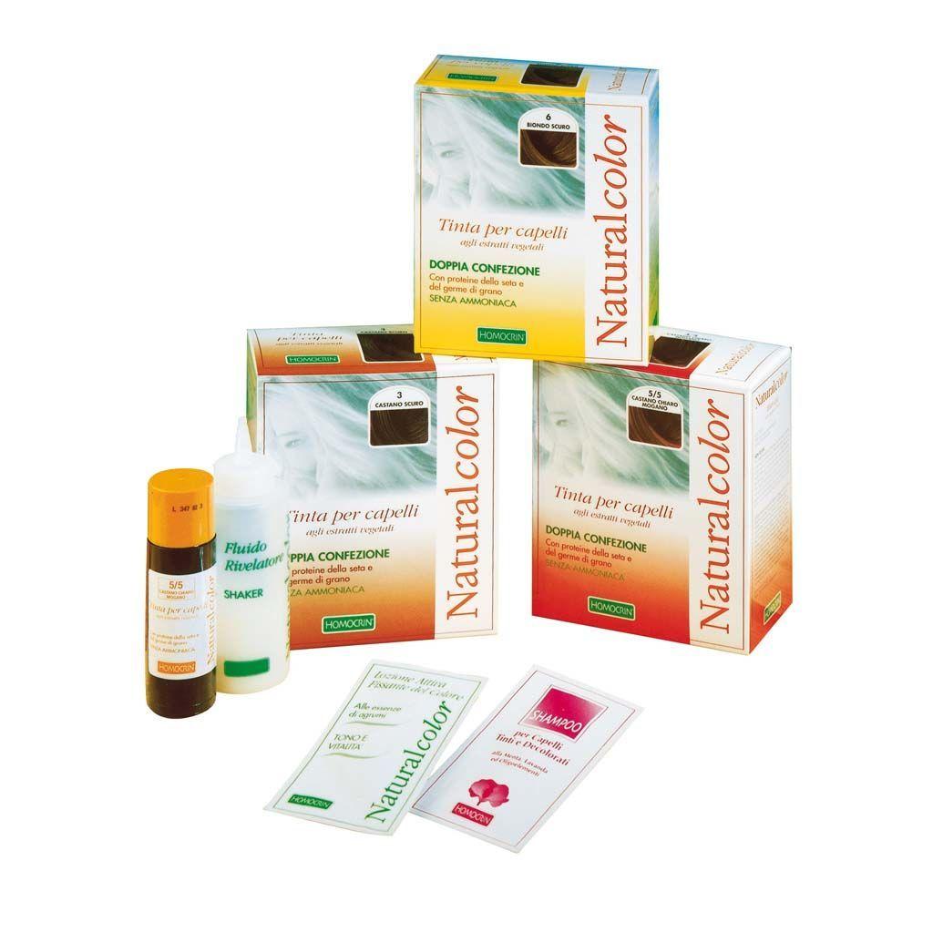 Specchiasol Homocrin Natural Color Tinta agli Estratti Vegetali Castano Chiaro Dorato Rame 534