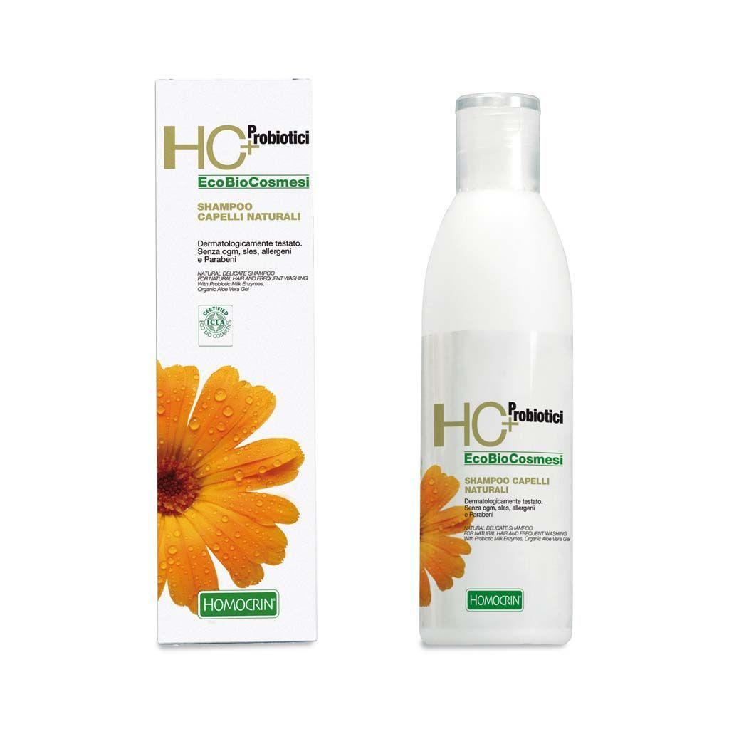Specchiasol Homocrin Shampoo Naturale per Capelli Naturali e Lavaggi Frequenti 250 ml