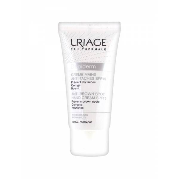 Uriage  Depiderm  Crema mani AntiMacchie spf15 50ml