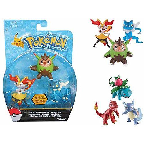 Pokemon Set Action Figure 3 Pezzi