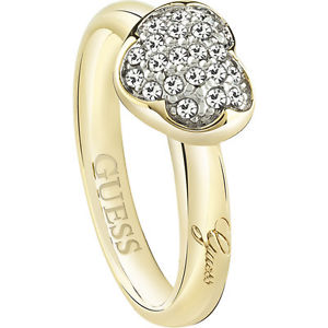 Anello donna Guess UBR7250252 Heartshelter