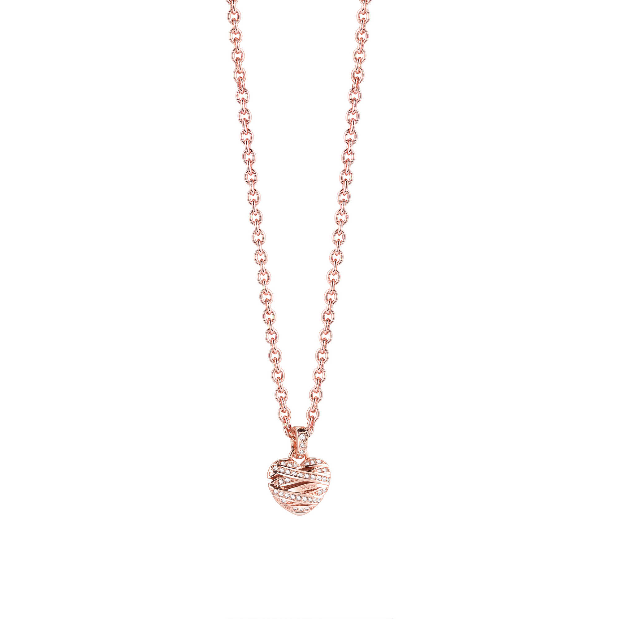 Collana donna Guess UBN21610 Rose Gold