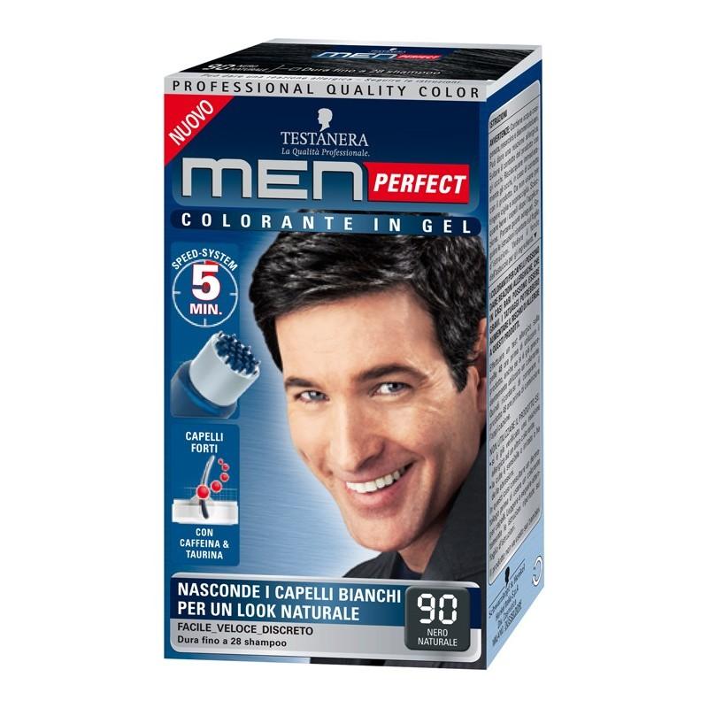 Testanera  Colorante per capelli in gel senza ammoniaca men perfect n 90 nero naturale