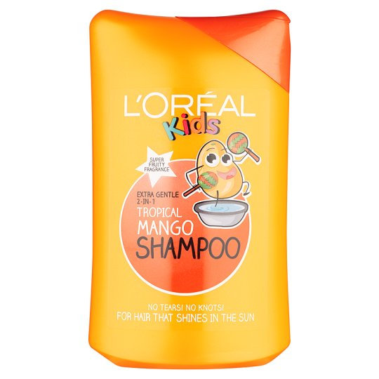 LOral Paris  Kids 2 in 1 tango super mango shampoo 250 ml