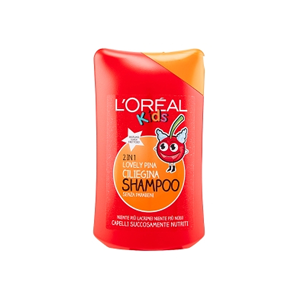 LOral Paris  Kids 2 in 1 lovely pina ciliegina shampoo 250 ml