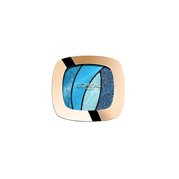 LOral Paris  Color riche quad  palette ombretti s15 turquoise spell
