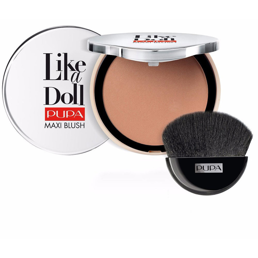 Pupa  Like a doll maxi blush  fard compatto 302 intense bronze