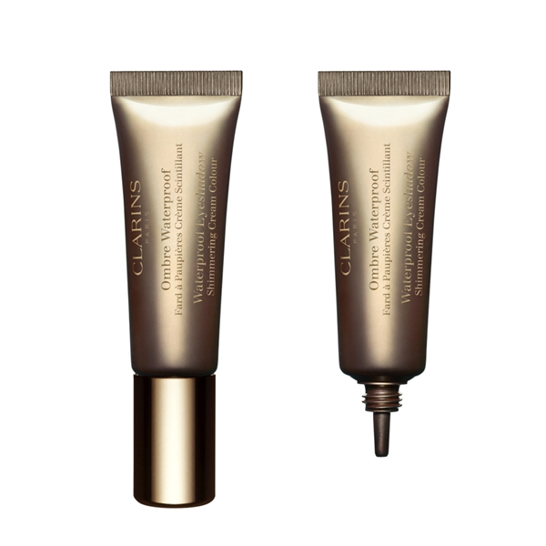 Clarins  Ombre waterproof  ombretto in crema 03 silver taupe