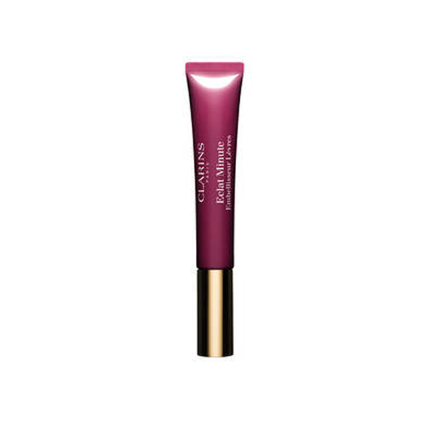 Clarins  Eclat minute embellisseur lvres  gloss 08 plum shimmer