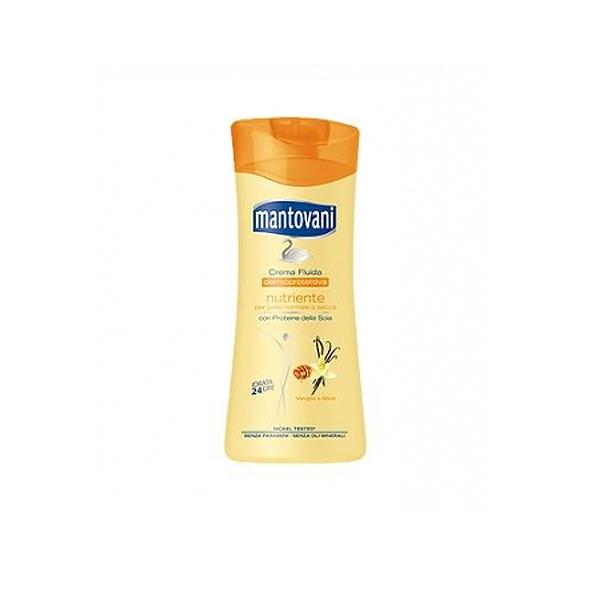 Mantovani  Crema fluida nutriente vaniglia e miele 400 ml