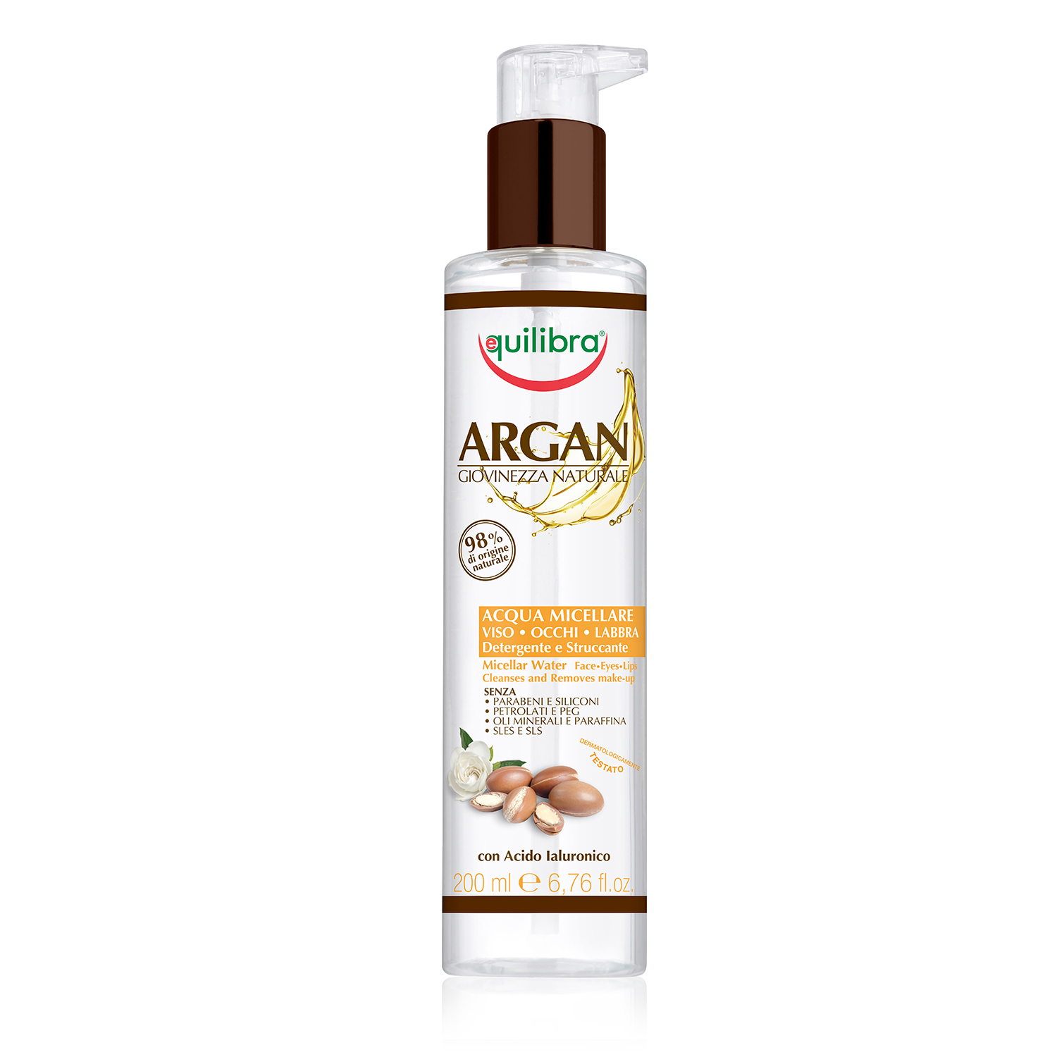 Equilibra  Argan acqua micellare 200 ml