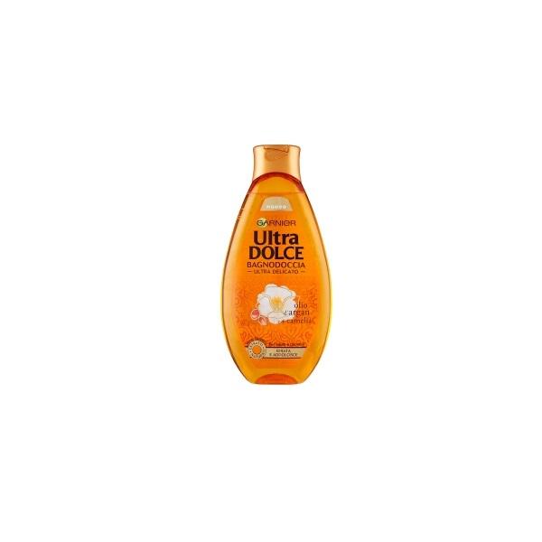 Garnier  Ultra dolce olio dargan e di camelia  bagnodoccia ultra delicato 500 ml