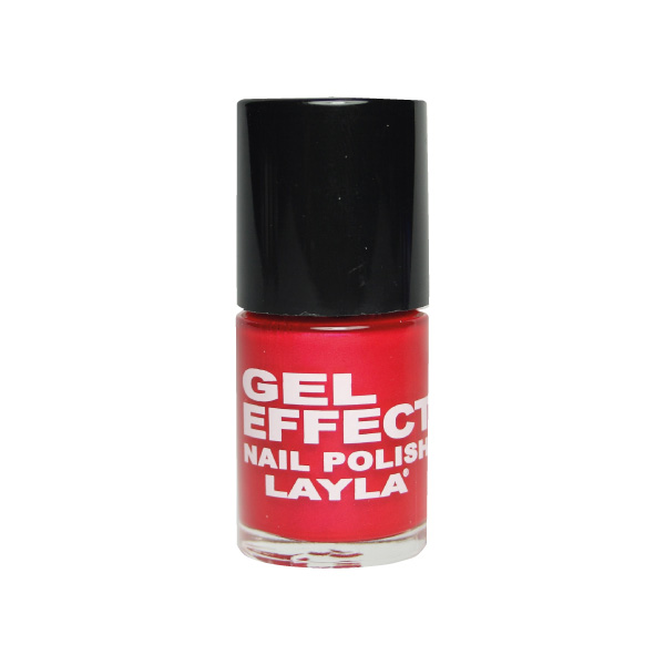 Layla  Gel effect nail polish  smalto 28 cayenne
