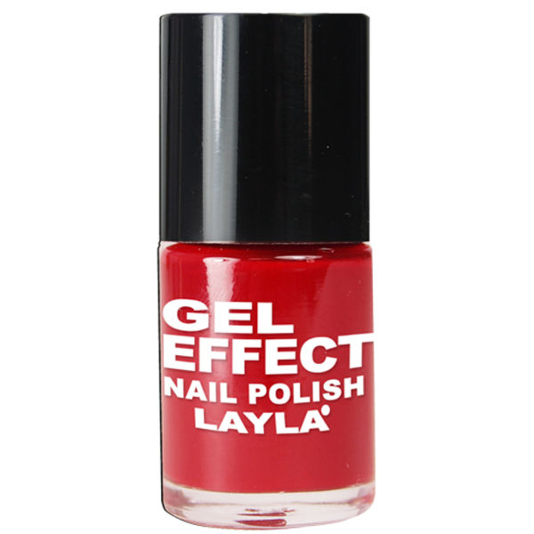 Layla  Gel effect nail polish  smalto 05 coral red