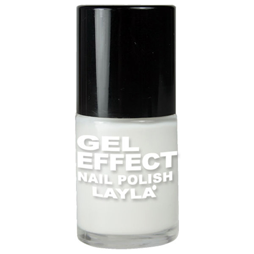 Layla  Gel effect nail polish  smalto 01 purity