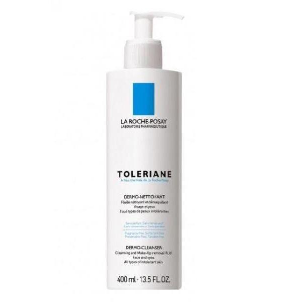LA ROCHE POSAY Toleriane Dermo nettoyant fluido detergente viso 400 Ml
